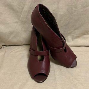 Bella Vita 'Nouveau' Peep Toe Ankle Boot